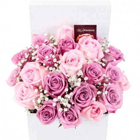 Just Roses in a Basket