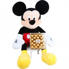 Mickey Mouse Gigante Con Chocolates