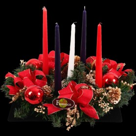 Fiorence Christmas Table Center