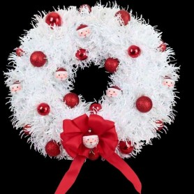 Light and Snow Wreath