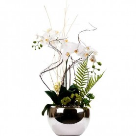 Artificial floral Imperial White Orchid