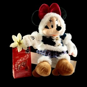 Minnie Mouse Y Chocolates Navideños