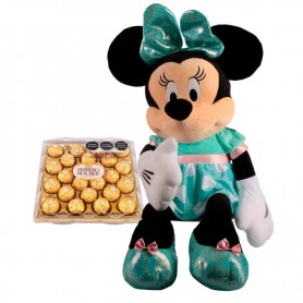 Minnie Mouse and Chocolates