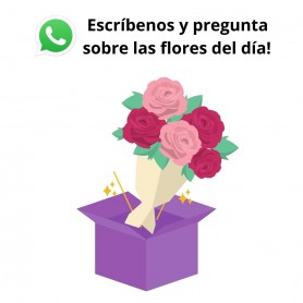 Special Design with seasonal flowers