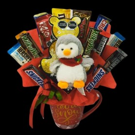 Snowy Candy with Penguin