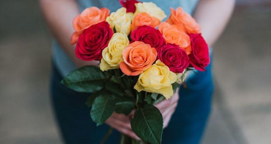 Recibes tus rosas