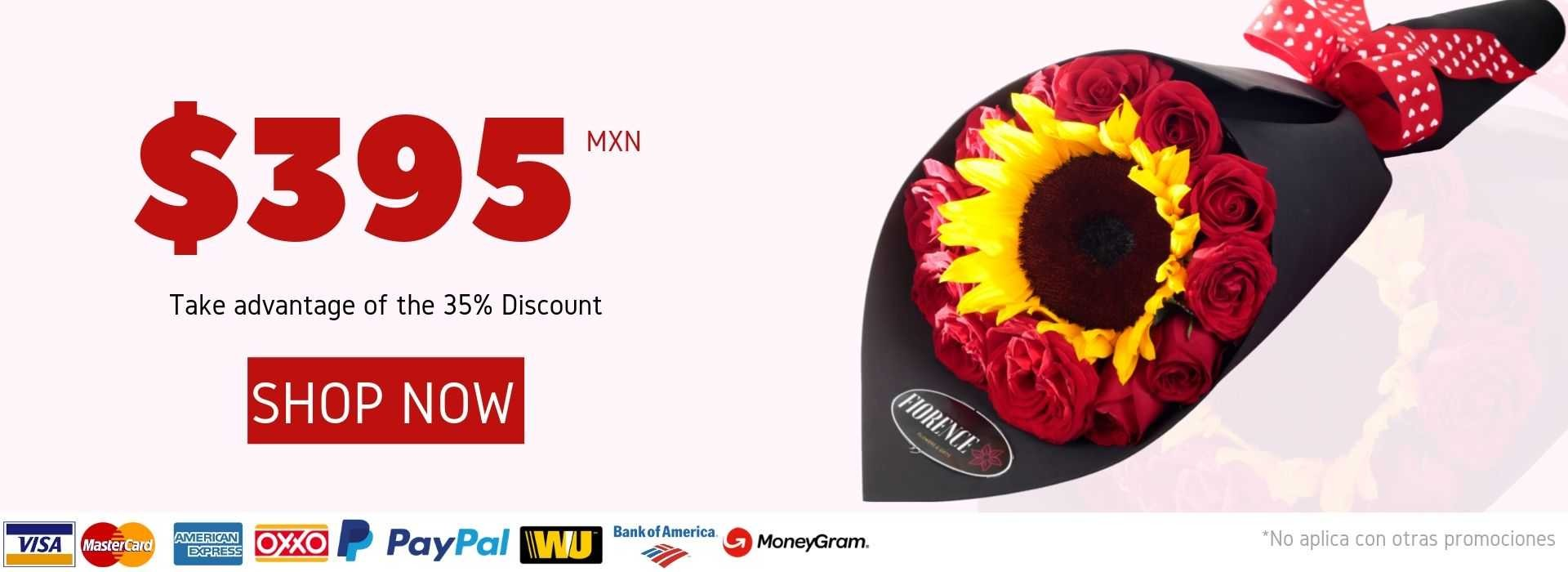 35% off - Sunflower